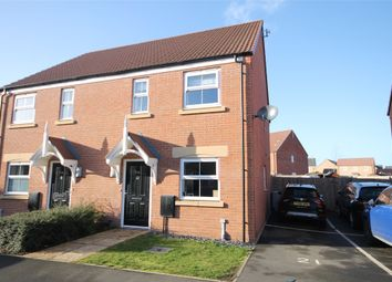 Thumbnail 2 bed semi-detached house for sale in Snowdrop Avenue, Newark, Nottinghamshire.