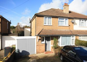 Thumbnail 3 bed semi-detached house for sale in Bancroft Road, Bexhill-On-Sea
