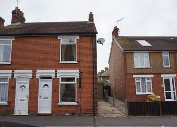 Thumbnail 3 bed end terrace house for sale in Cage Lane, Felixstowe