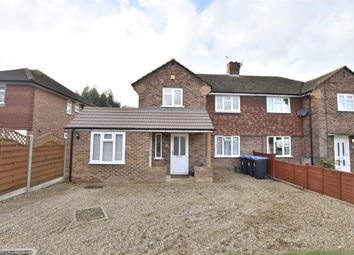 Thumbnail 5 bed semi-detached house for sale in Kingsmead, Smallfield, Horley