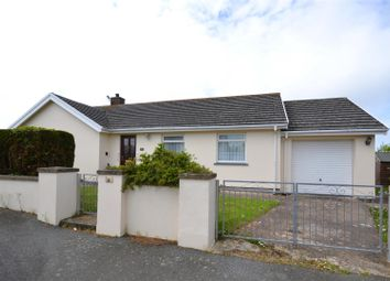 Thumbnail 3 bed detached bungalow for sale in Castle View, Simpson Cross, Haverfordwest