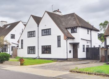 Thumbnail 4 bed semi-detached house for sale in Princes Avenue, Petts Wood, Orpington