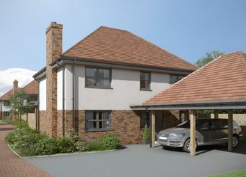 Thumbnail 4 bed detached house for sale in South Lane, Southbourne, Emsworth