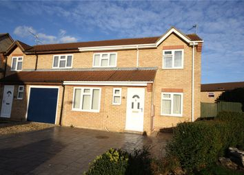 Thumbnail 3 bed semi-detached house for sale in Cypress Close, Sleaford, Lincolnshire