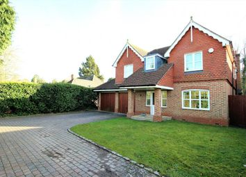 Thumbnail 5 bed detached house for sale in Elvetham Road, Fleet