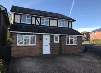 Thumbnail 4 bed detached house to rent in Farley Copse, Binfield