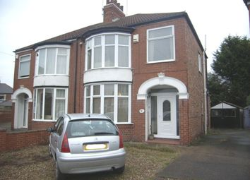 Thumbnail 3 bed semi-detached house for sale in Southfield Road, Hull