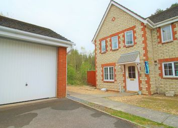 Thumbnail 3 bedroom end terrace house for sale in Ffordd Ger Y Llyn, Tircoed Forest Village, Penllergaer, Swansea