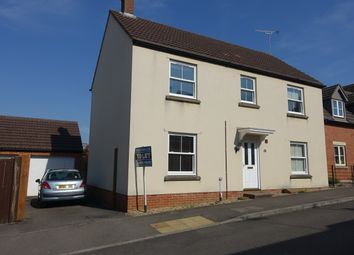 Thumbnail 4 bed detached house to rent in Bell Chase, Yeovil