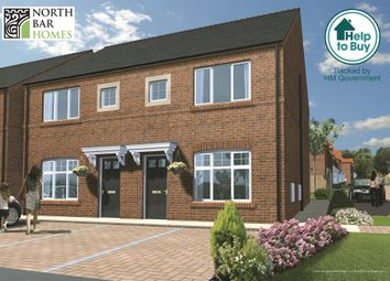 Thumbnail 3 bed semi-detached house for sale in Greenfields, Easton Road, Bridlington