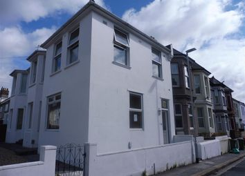 Thumbnail 1 bed flat to rent in Kent Road, Plymouth