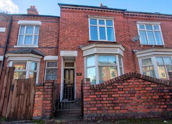 Thumbnail 4 bedroom terraced house to rent in Welford Road, Leicester