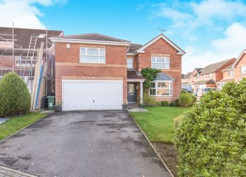 Thumbnail 4 bed detached house for sale in Belvedere Court, Alwoodley, Leeds