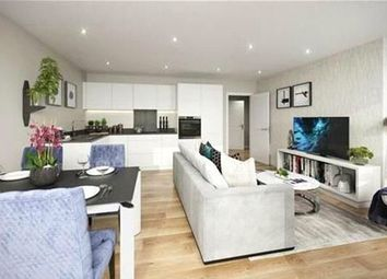 Thumbnail 2 bed flat for sale in Legacy Wharf, Cooks Road, Stratford, London