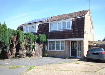 Thumbnail 3 bed semi-detached house for sale in Horley, Surrey