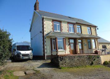 Thumbnail 3 bedroom semi-detached house for sale in Black Road, Penycoedcae, Pontypridd