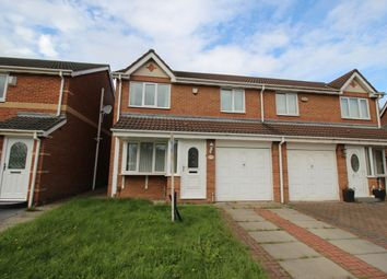 Thumbnail 3 bed semi-detached house for sale in St. Johns Close, Stockton-On-Tees