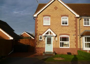 Thumbnail 3 bedroom semi-detached house to rent in Calladine Close, Sutton In Ashfield, Notts