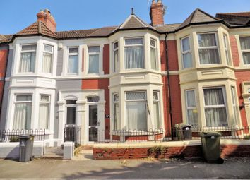 Thumbnail 3 bedroom terraced house for sale in Clarence Embankment, Cardiff