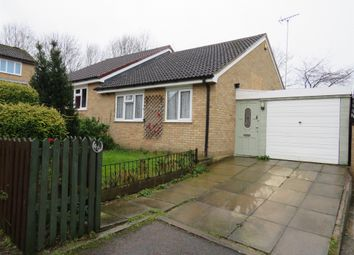 Thumbnail 2 bed semi-detached bungalow for sale in Blackthorn Drive, Anstey Heights, Leicester