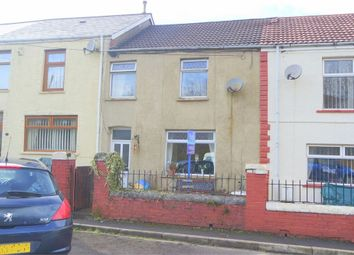 Thumbnail 3 bed terraced bungalow for sale in Coegnant Road, Maesteg, Mid Glamorgan