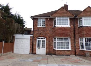 Thumbnail 3 bedroom semi-detached house for sale in Wintersdale Road, Evington, Leicester, Leicestershire