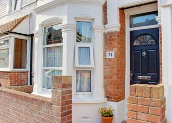 Thumbnail 2 bed terraced house for sale in Dunbar Road, Southsea