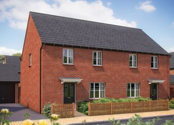 "Thumbnail 2 bed semi-detached house for sale in ""The Chessington"" at Whitelands Way, Bicester"