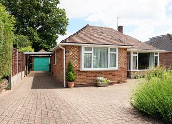 Thumbnail 4 bed detached bungalow for sale in Vespasian Way, Chandlers Ford