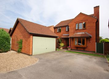 Thumbnail 4 bed detached house to rent in Bells Meadow, Heighington, Lincoln