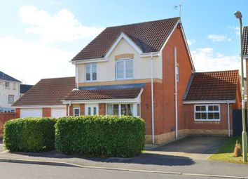 Thumbnail 3 bed detached house for sale in Elder Crescent, Andover