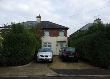 Thumbnail 3 bed semi-detached house to rent in Hawthorn Avenue, Swindon, Wiltshire