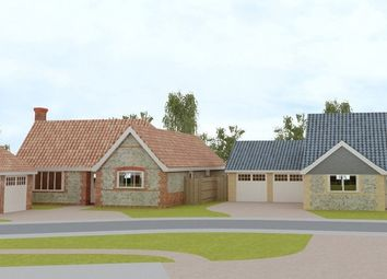 Thumbnail 3 bed detached bungalow for sale in Lopham Road, East Harling, Norwich