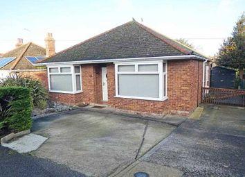 Thumbnail 3 bed detached bungalow for sale in Norman Road, Bury St Edmunds