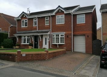 Thumbnail 3 bed semi-detached house for sale in White Cross Court, Cudworth
