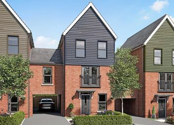 """Thumbnail 3 bedroom terraced house for sale in """"Cannington"""" at Tweed Street, Leicester"""