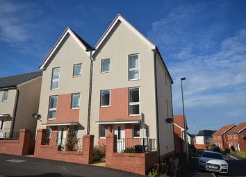 Thumbnail 3 bed semi-detached house for sale in Younghayes Road, Cranbrook, Near Exeter