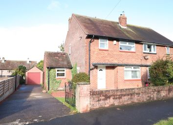 Thumbnail 3 bed semi-detached house for sale in Geltsdale Avenue, Durranhill, Carlisle