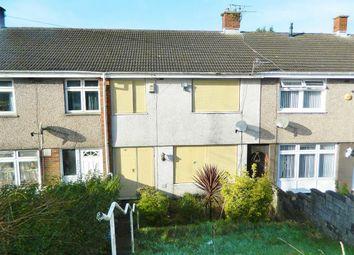 Thumbnail 3 bed terraced house for sale in Ffordd-Y-Brain, Ravenhill, Swansea