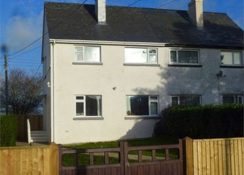 Thumbnail 3 bed semi-detached house for sale in Heol Y Felin, Penparc, Cardigan, Ceredigion
