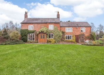 Thumbnail 5 bed detached house for sale in Boundary Lane, Threapwood, Malpas, Cheshire