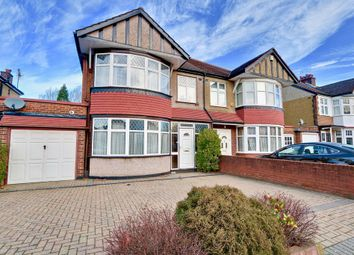 Thumbnail 4 bed semi-detached house to rent in Midcroft, Ruislip