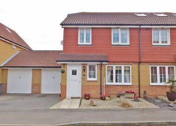 Thumbnail 3 bed semi-detached house for sale in Albacore Close, Lee-On-The-Solent