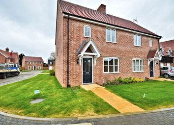 Thumbnail 3 bedroom semi-detached house for sale in Common Road, Snettisham, King's Lynn