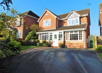Thumbnail 4 bed detached house for sale in Mayock Crescent, Castlefields, Stafford