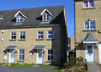 Thumbnail 3 bed town house for sale in Meldon Way, Westwood Park, Bradford