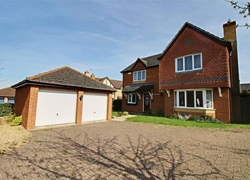 Thumbnail 4 bed detached house for sale in Christie Drive, Huntingdon