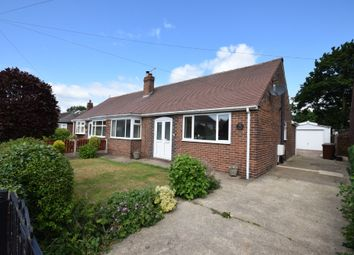 Thumbnail 3 bed semi-detached bungalow for sale in Oakwell Avenue, Pontefract