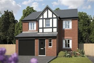 Thumbnail 4 bed detached house for sale in Bewley Drive, Kirkby