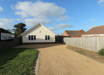 Thumbnail 3 bed detached bungalow for sale in Fakes Road, Hemsby, Great Yarmouth